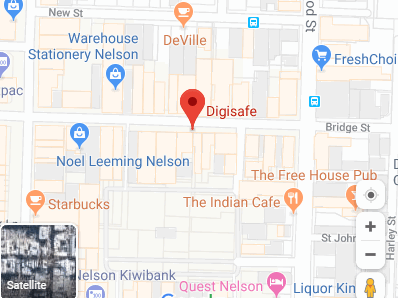 Google map Digisafe address