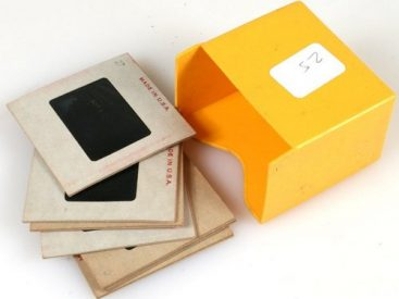 photo slides and negatives scanning
