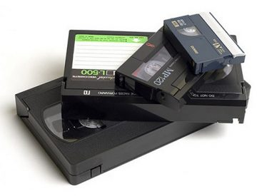 Video tape conversion - VHS, 8mm, Hi8, Digital8, MiniDV