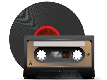 vinyl records and audio tapes conversion