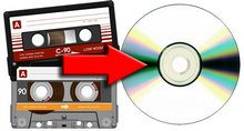 cassettes to CD